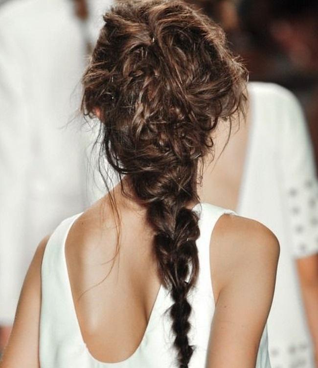 braided hair diy tutorial